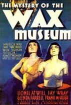 Mystery of the Wax Museum 1933 DVD - Lionel Atwill / Fay Wray